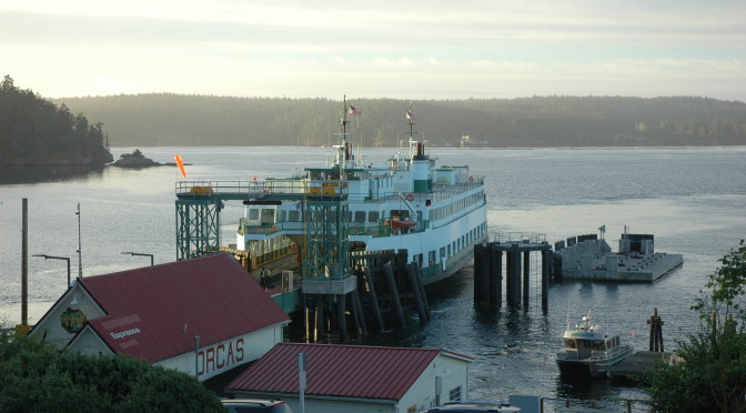 Day trippers! Friday Harbor