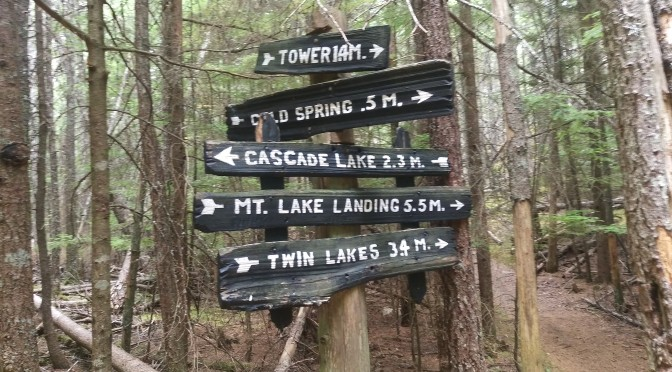 Hikes #3 and 4: Mount Constitution to Cold Springs to Cascade Lake