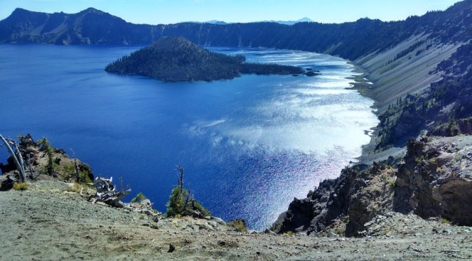 On the road again: Crater Lake and The Sisters