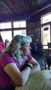 Kate, the horse wrangler!